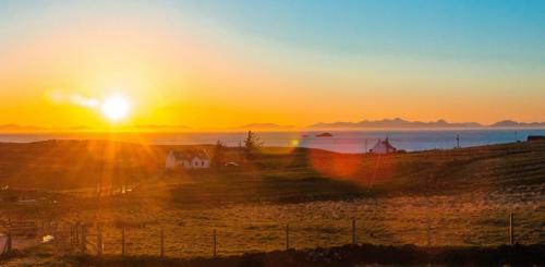 Sunset At Bothan Eòrna